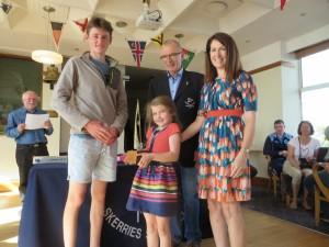 Tom Fox winner of Brian Leahy Trophy