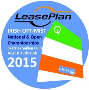 Irish Optimist Nationals 2015 Event Logo