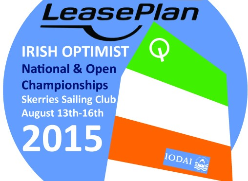 Irish Optimist Nationals 2015 Event Logo